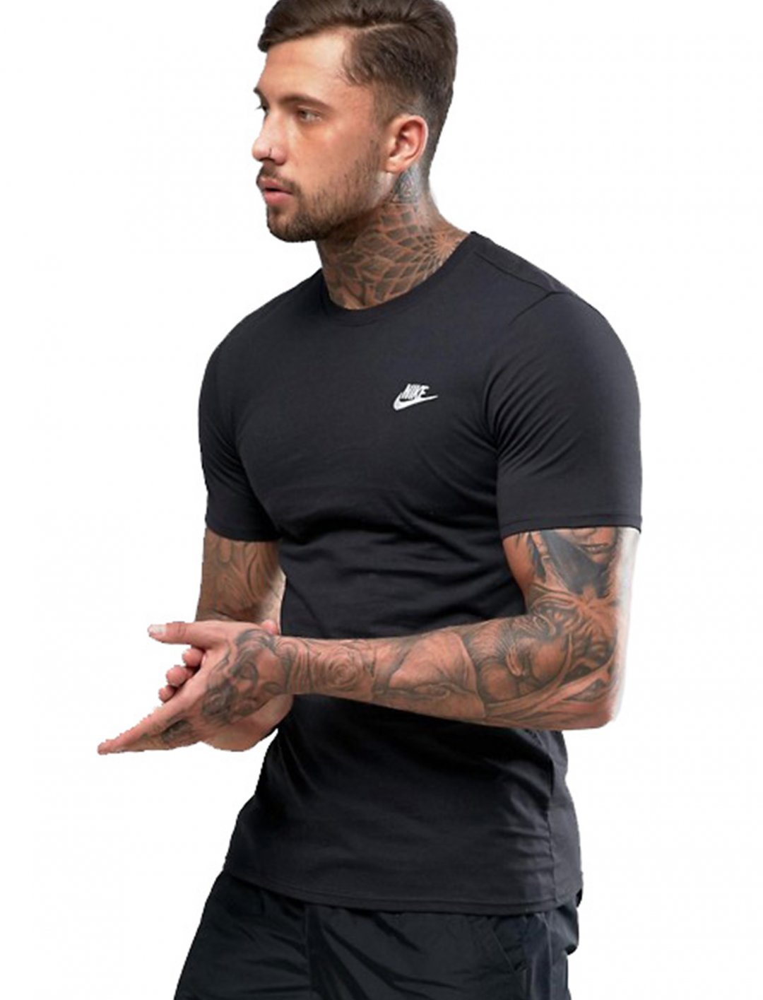 """T-Shirt With Embroidered Logo {""""id"""":5,""""product_section_id"""":1,""""name"""":""""Clothing"""",""""order"""":5} Nike"""