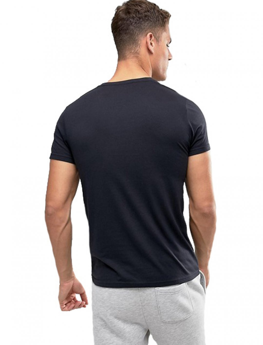 """Crew Neck T-Shirt {""""id"""":5,""""product_section_id"""":1,""""name"""":""""Clothing"""",""""order"""":5} Hollister"""