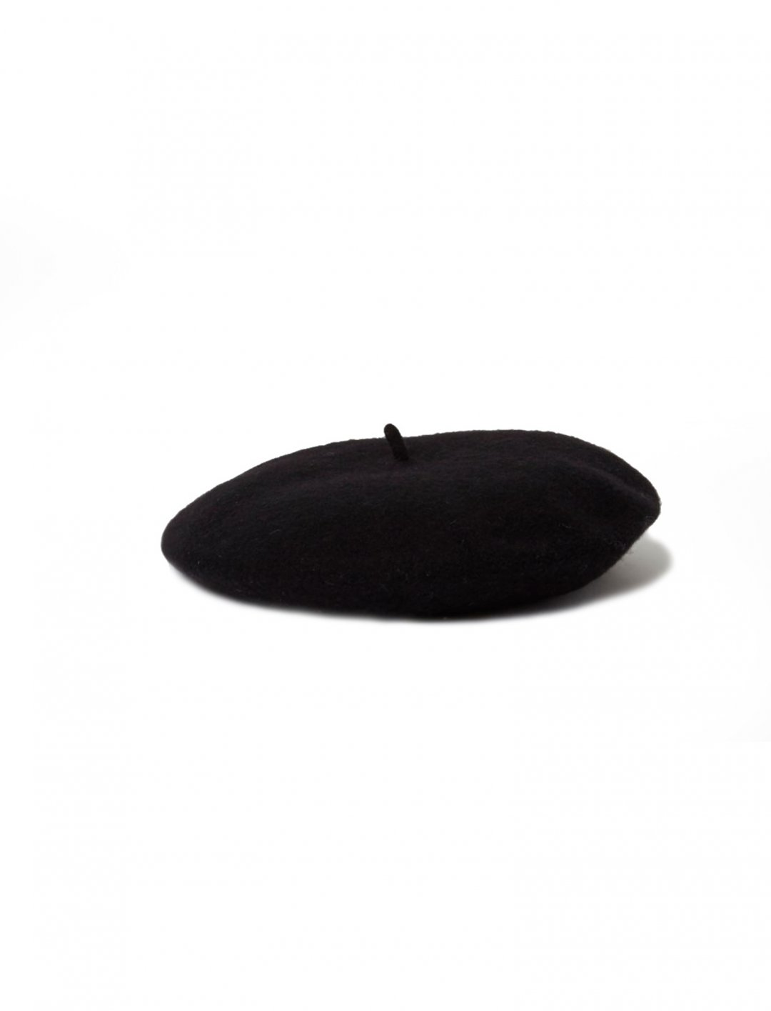 """Black Felt Beret {""""id"""":16,""""product_section_id"""":1,""""name"""":""""Accessories"""",""""order"""":15} River Island"""