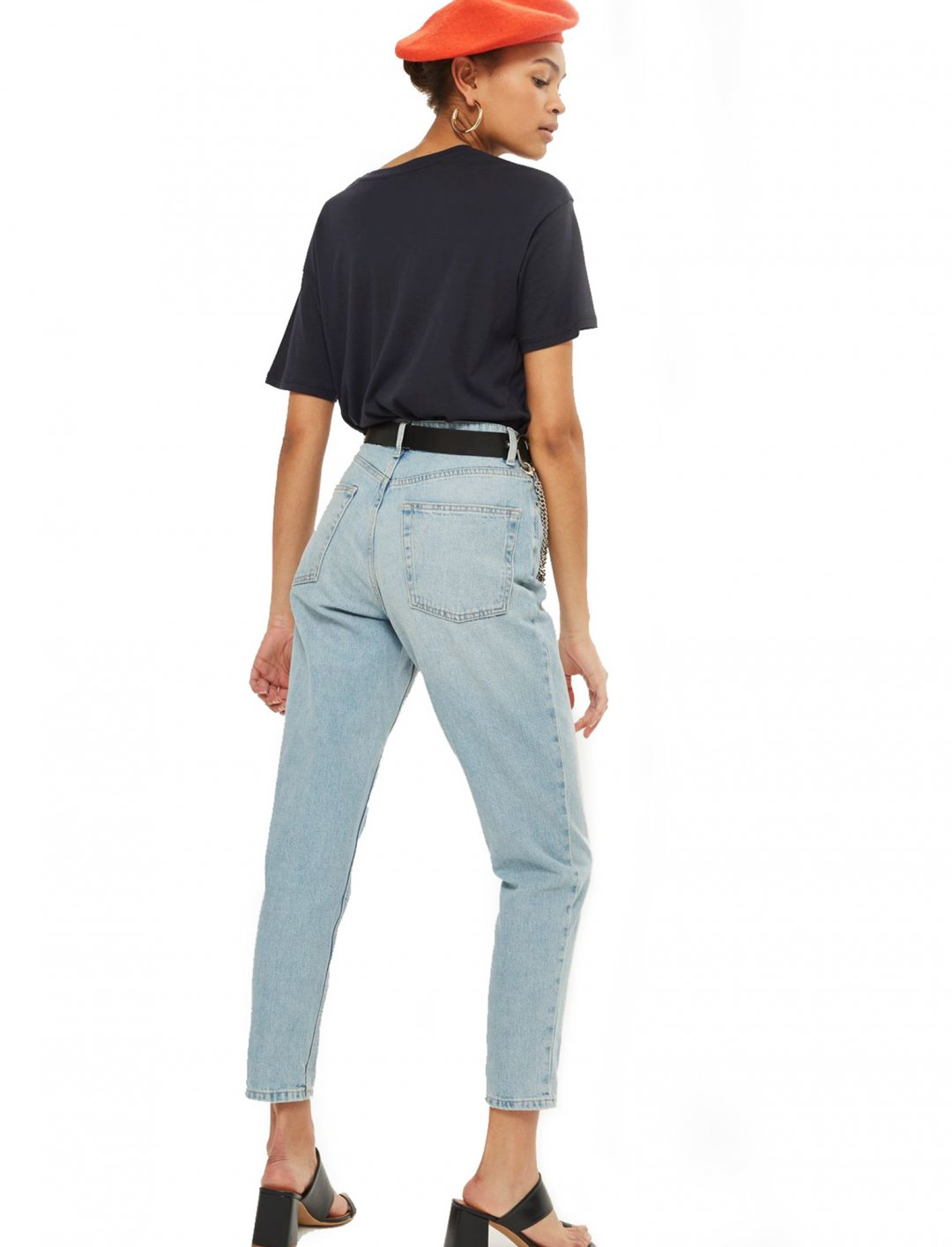 """Authentic Bleach Mom Jeans {""""id"""":5,""""product_section_id"""":1,""""name"""":""""Clothing"""",""""order"""":5} Moto"""