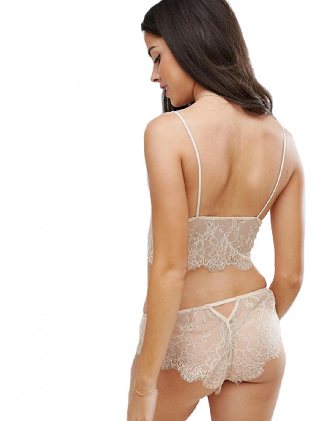 """Longline Lace Triangle Bra {""""id"""":5,""""product_section_id"""":1,""""name"""":""""Clothing"""",""""order"""":5} Asos"""