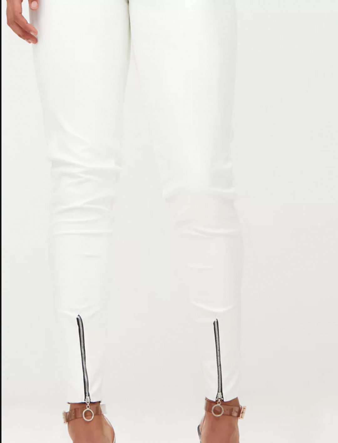 """Faux Leather Skinny Trousers {""""id"""":5,""""product_section_id"""":1,""""name"""":""""Clothing"""",""""order"""":5} Pretty Little Thing"""
