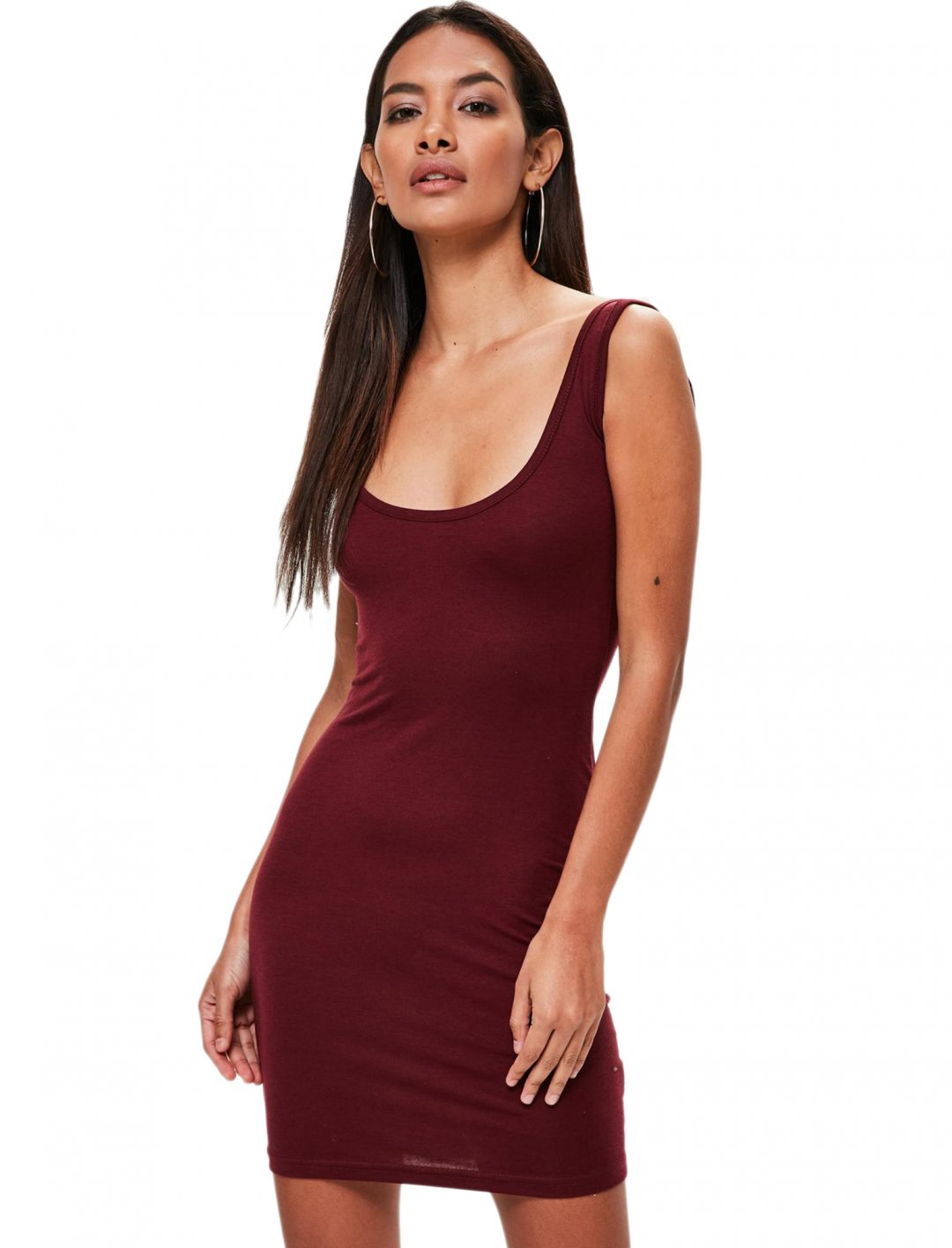 "Montana's Burgundy Dress {""id"":5,""product_section_id"":1,""name"":""Clothing"",""order"":5} Missguided"