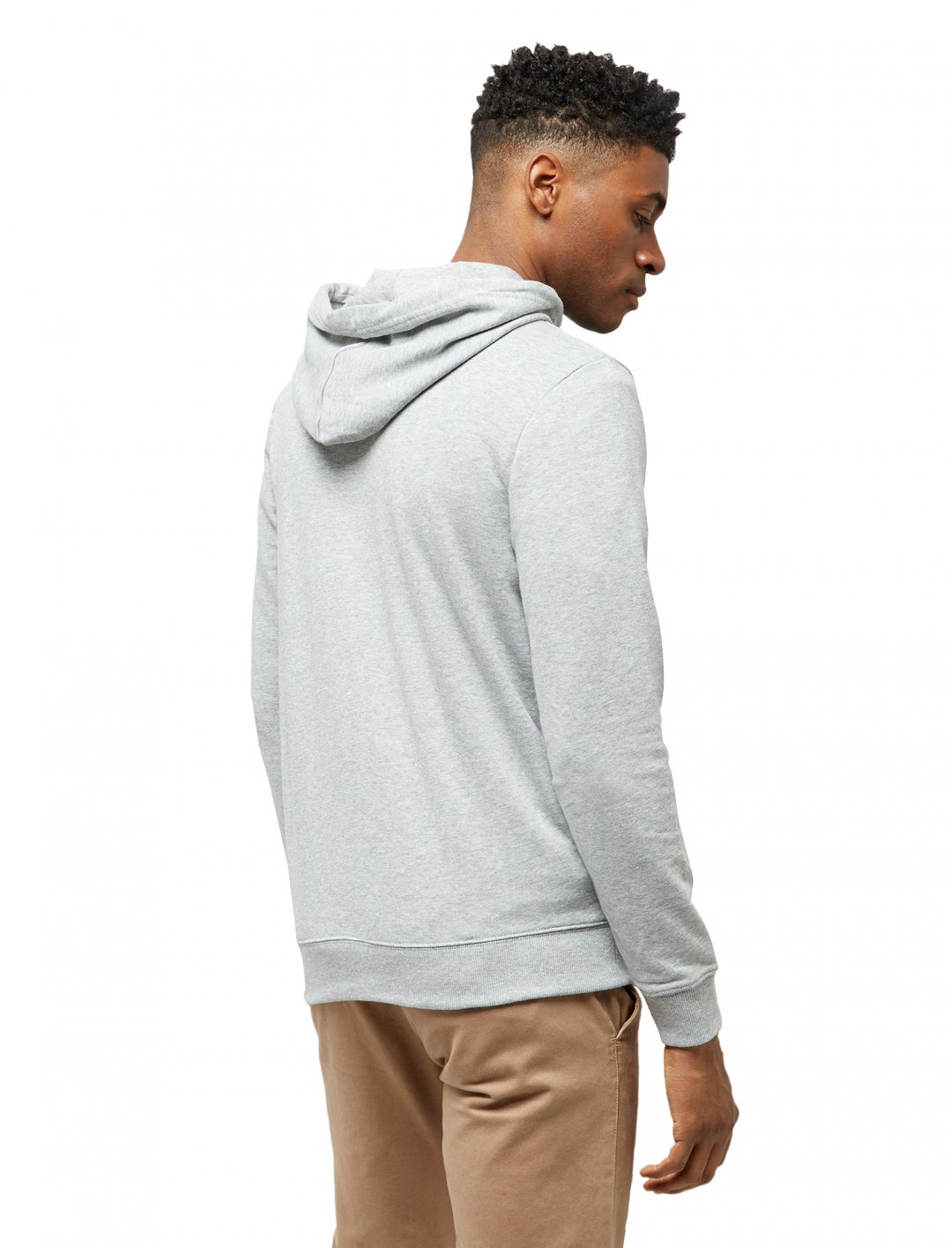 "Grey Zip Front Hoodie {""id"":5,""product_section_id"":1,""name"":""Clothing"",""order"":5} New Look"