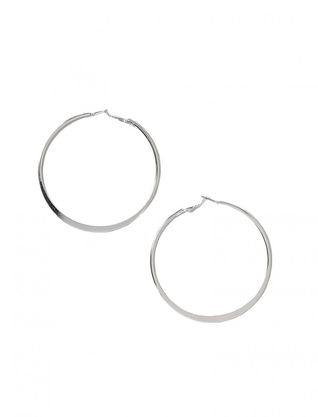 "Flat Hoop Earrings {""id"":16,""product_section_id"":1,""name"":""Accessories"",""order"":15} Freedom"