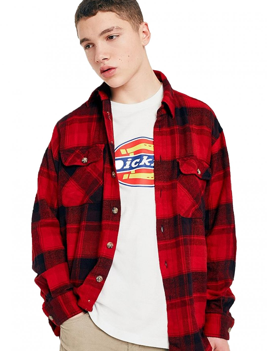 "Vintage Flannel Shirt {""id"":5,""product_section_id"":1,""name"":""Clothing"",""order"":5} Urban Outfitters"