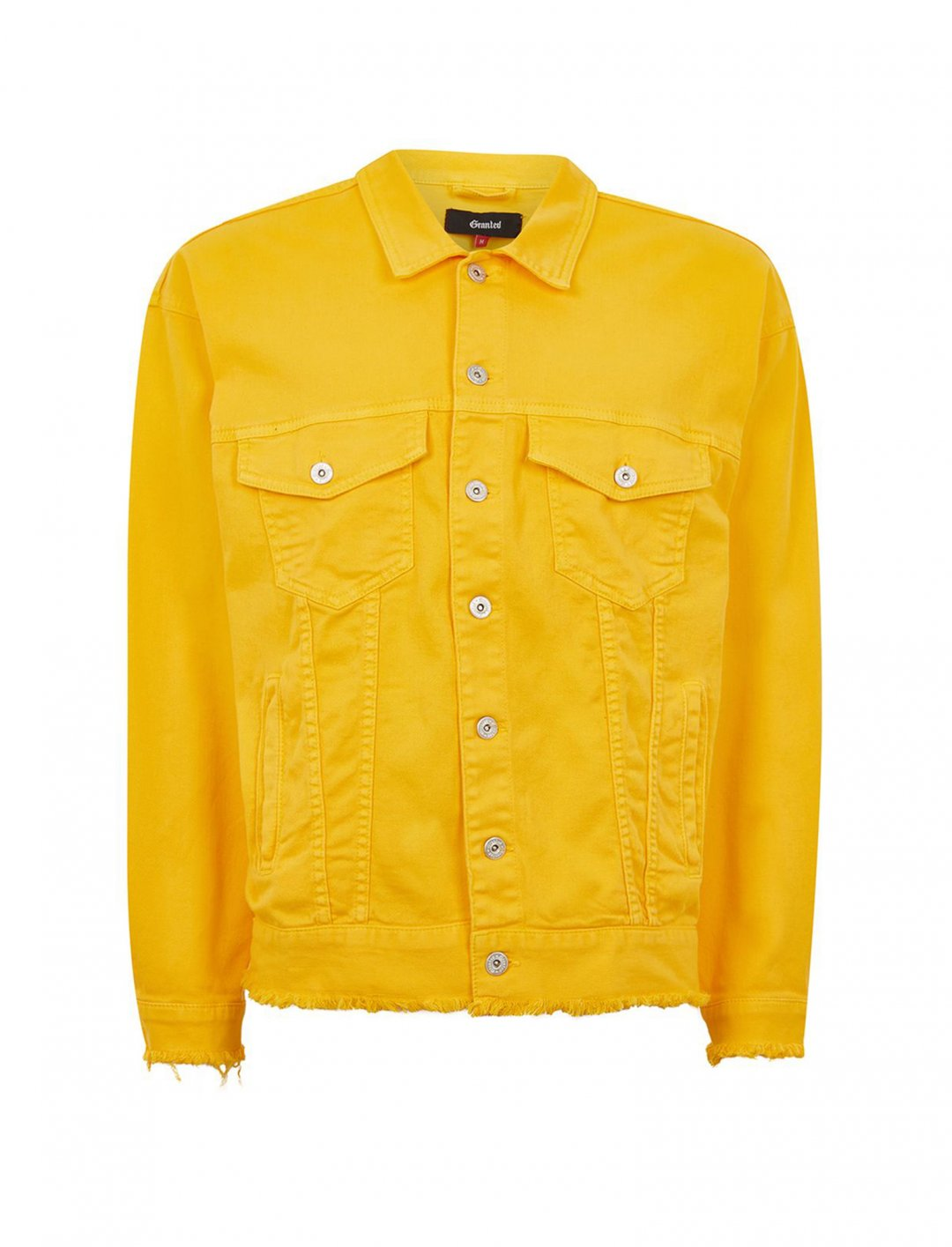 "Granted Denim Jacket {""id"":5,""product_section_id"":1,""name"":""Clothing"",""order"":5} Granted"