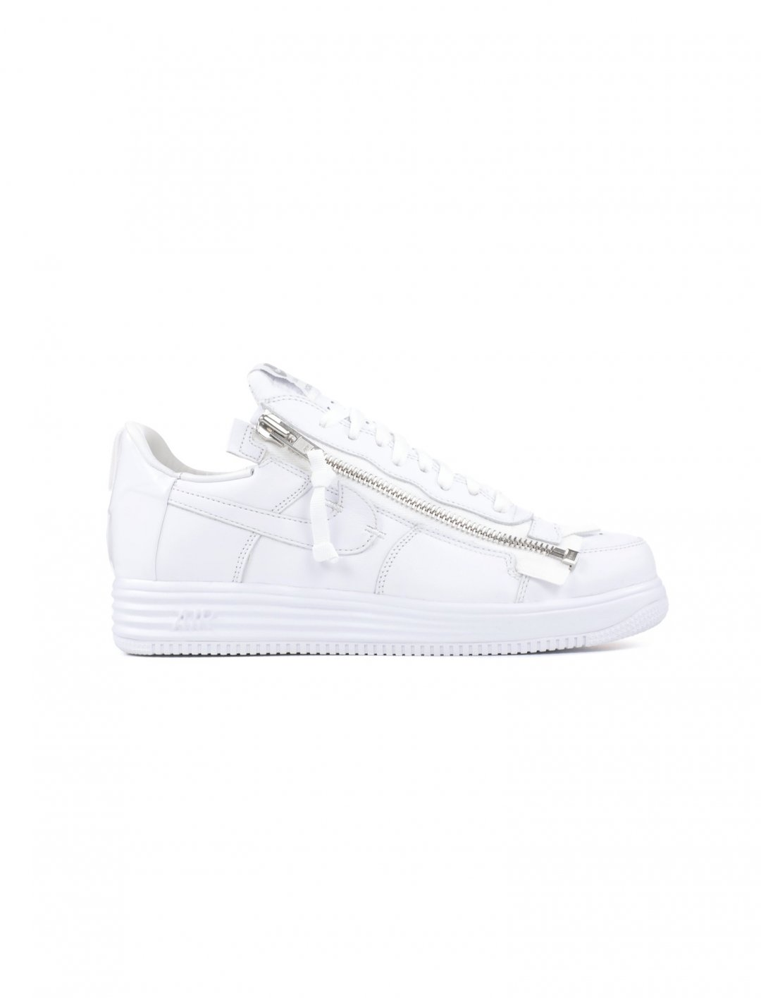 "Yxng Bane's White Zip Sneakers {""id"":5,""product_section_id"":1,""name"":""Clothing"",""order"":5} Nike"