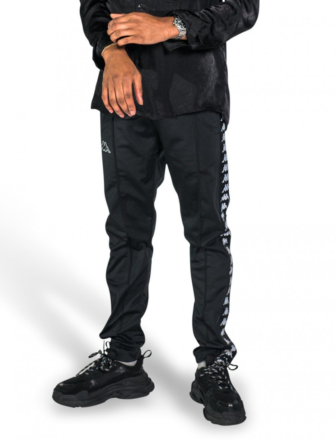 "Yxng Bane's Kappa Pants {""id"":5,""product_section_id"":1,""name"":""Clothing"",""order"":5} Kappa"
