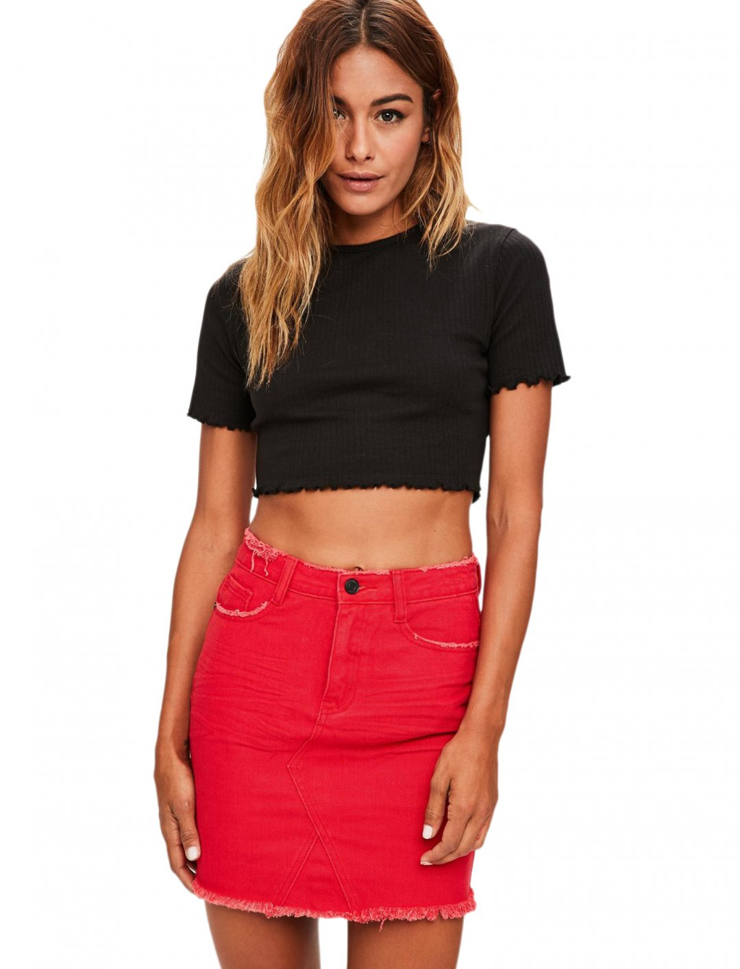"Missguided Top {""id"":5,""product_section_id"":1,""name"":""Clothing"",""order"":5} Missguided"