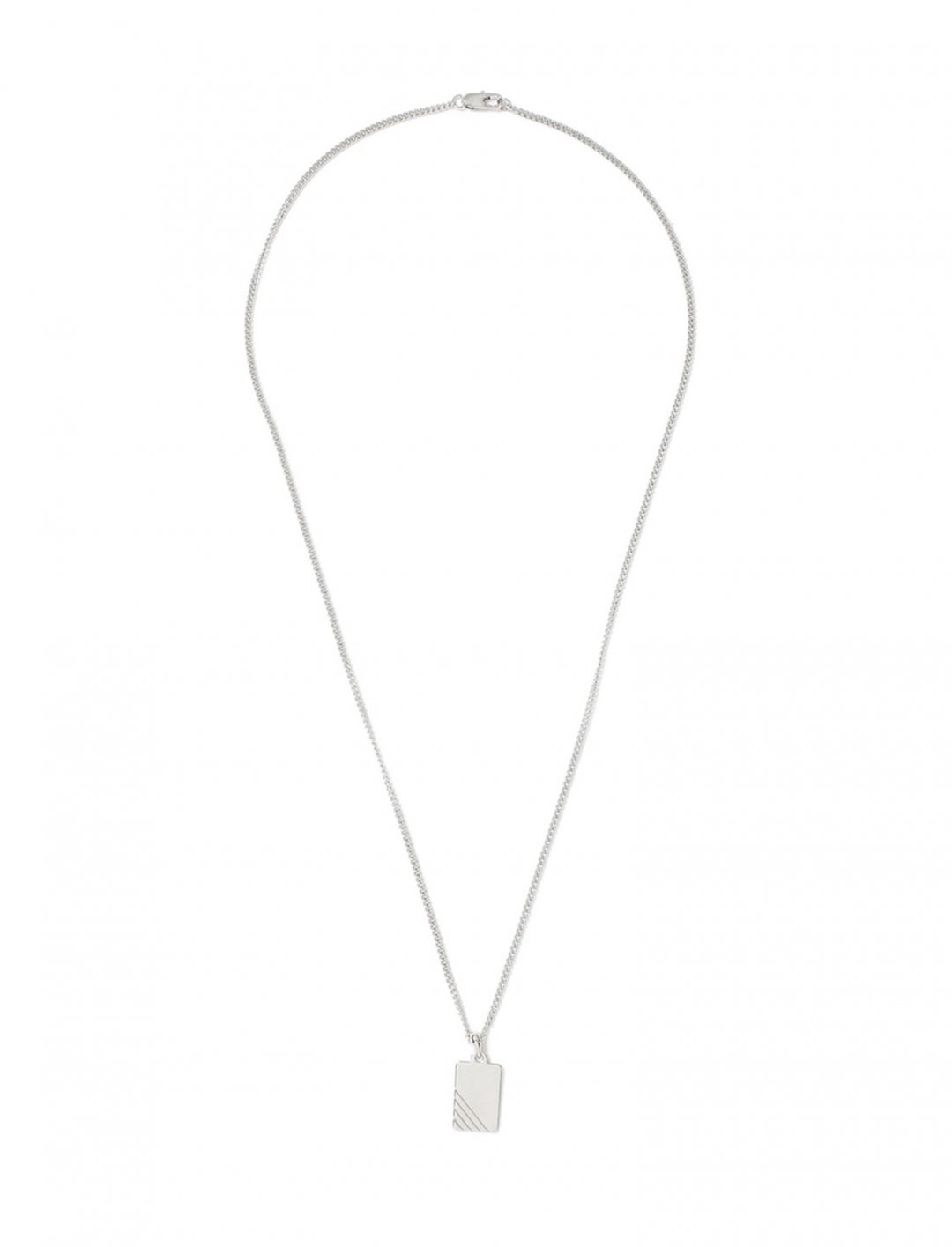 "Topman Dog Tag Necklace {""id"":16,""product_section_id"":1,""name"":""Accessories"",""order"":15} Topman"