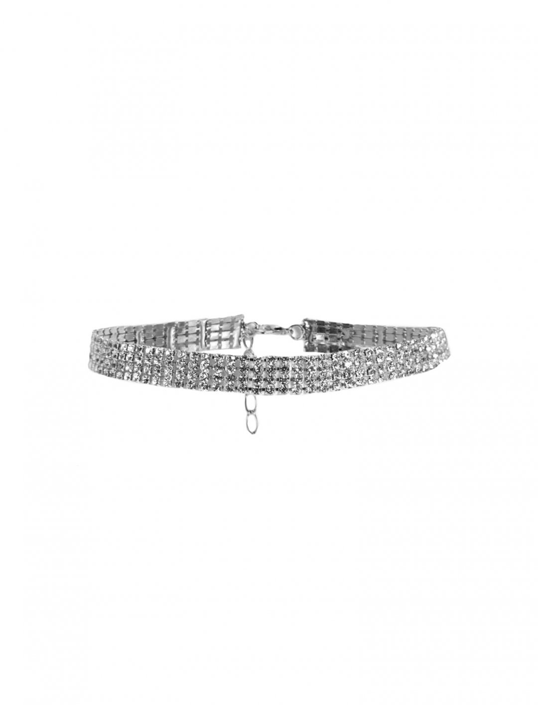 "Boohoo Bling Choker {""id"":16,""product_section_id"":1,""name"":""Accessories"",""order"":15} Boohoo"