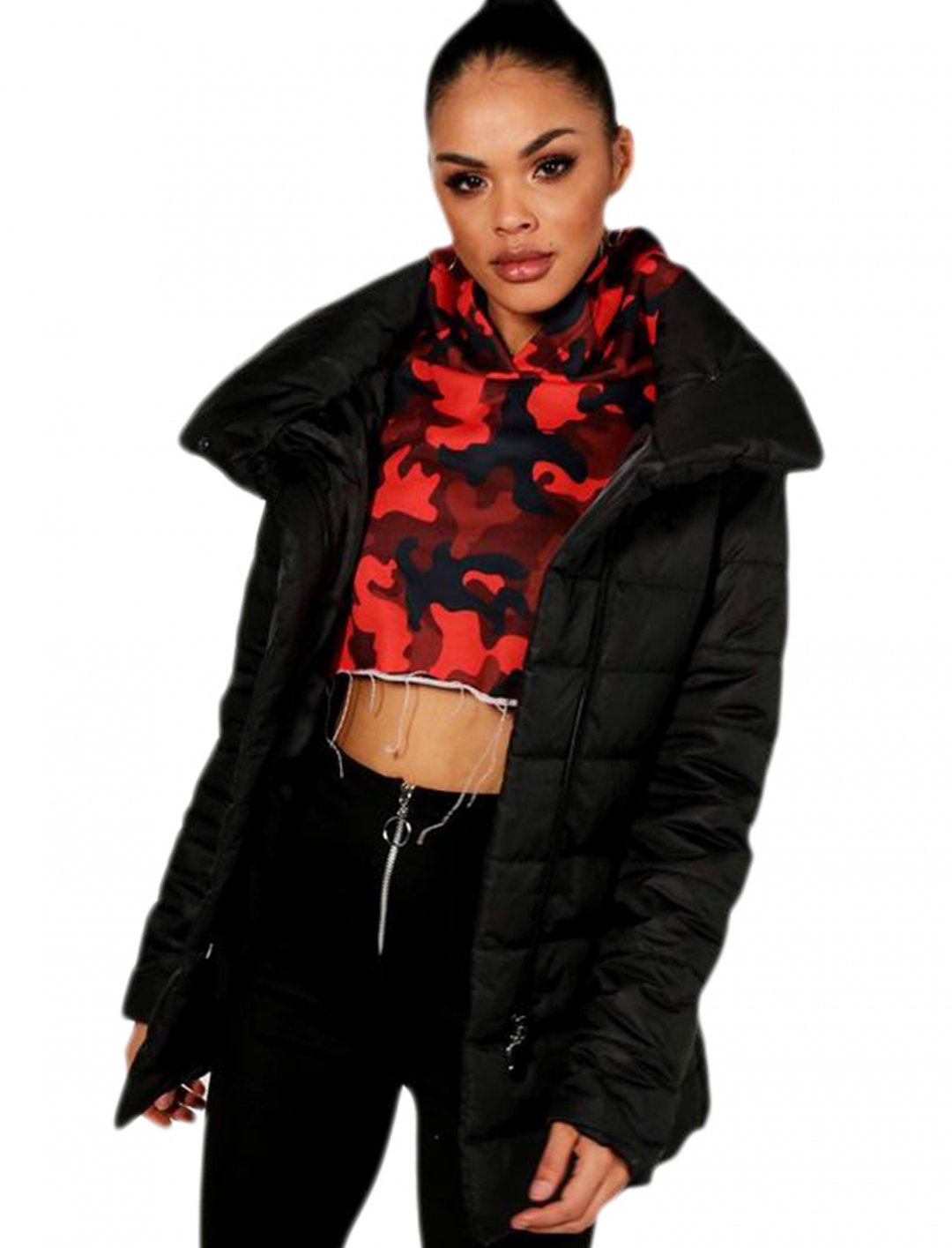 "Boohoo Padded Jacket {""id"":5,""product_section_id"":1,""name"":""Clothing"",""order"":5} Boohoo"