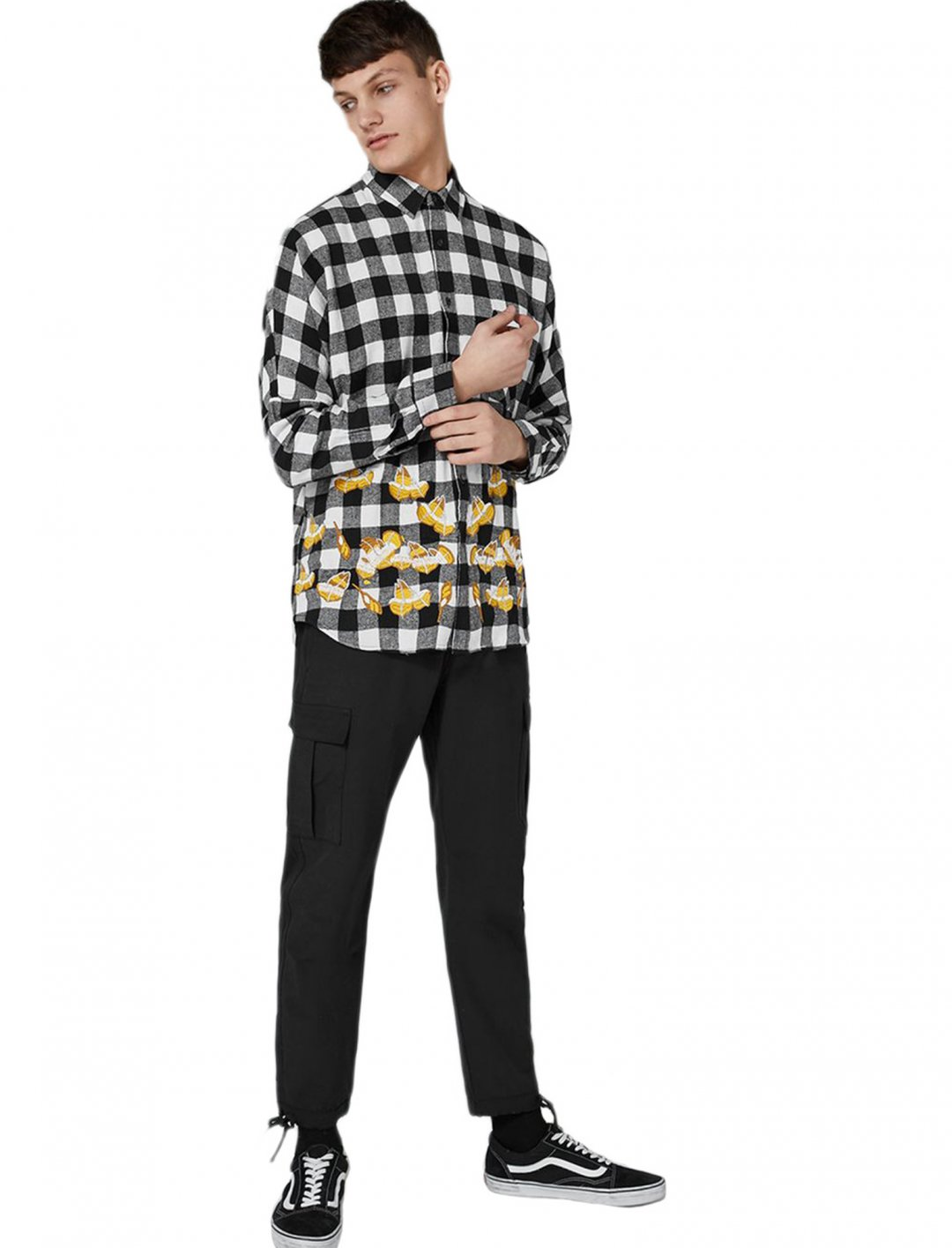 "Topman Check Shirt {""id"":5,""product_section_id"":1,""name"":""Clothing"",""order"":5} Topman"