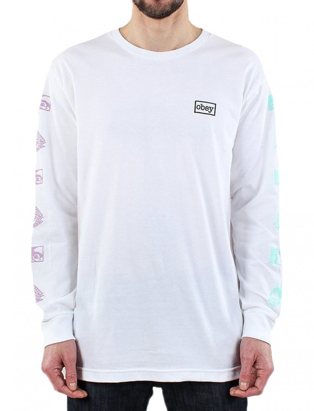 "Obey T-Shirt {""id"":5,""product_section_id"":1,""name"":""Clothing"",""order"":5} Obey"