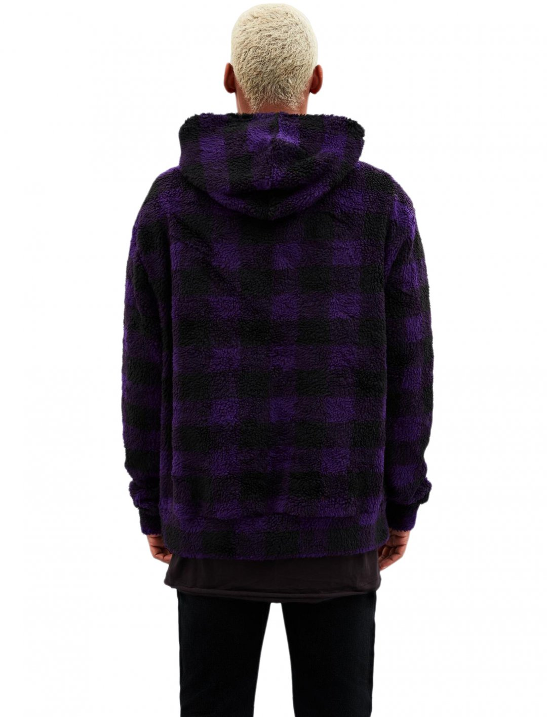 "Mennace Overhead Borg Hoodie {""id"":5,""product_section_id"":1,""name"":""Clothing"",""order"":5} Mennace"