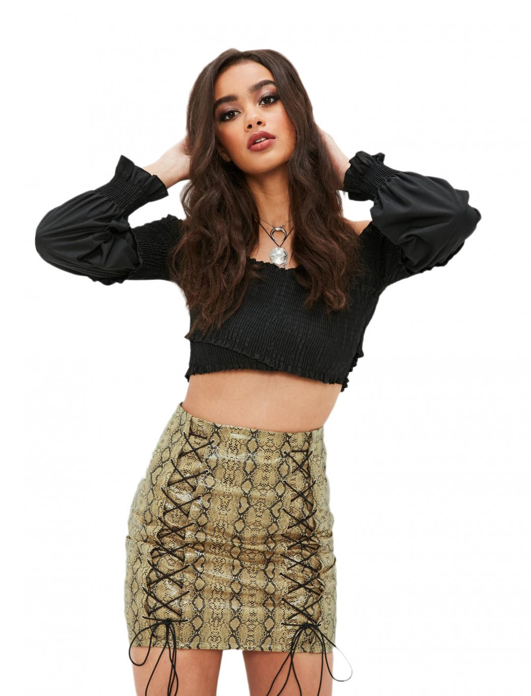 "Missguided Skirt {""id"":5,""product_section_id"":1,""name"":""Clothing"",""order"":5} Missguided"