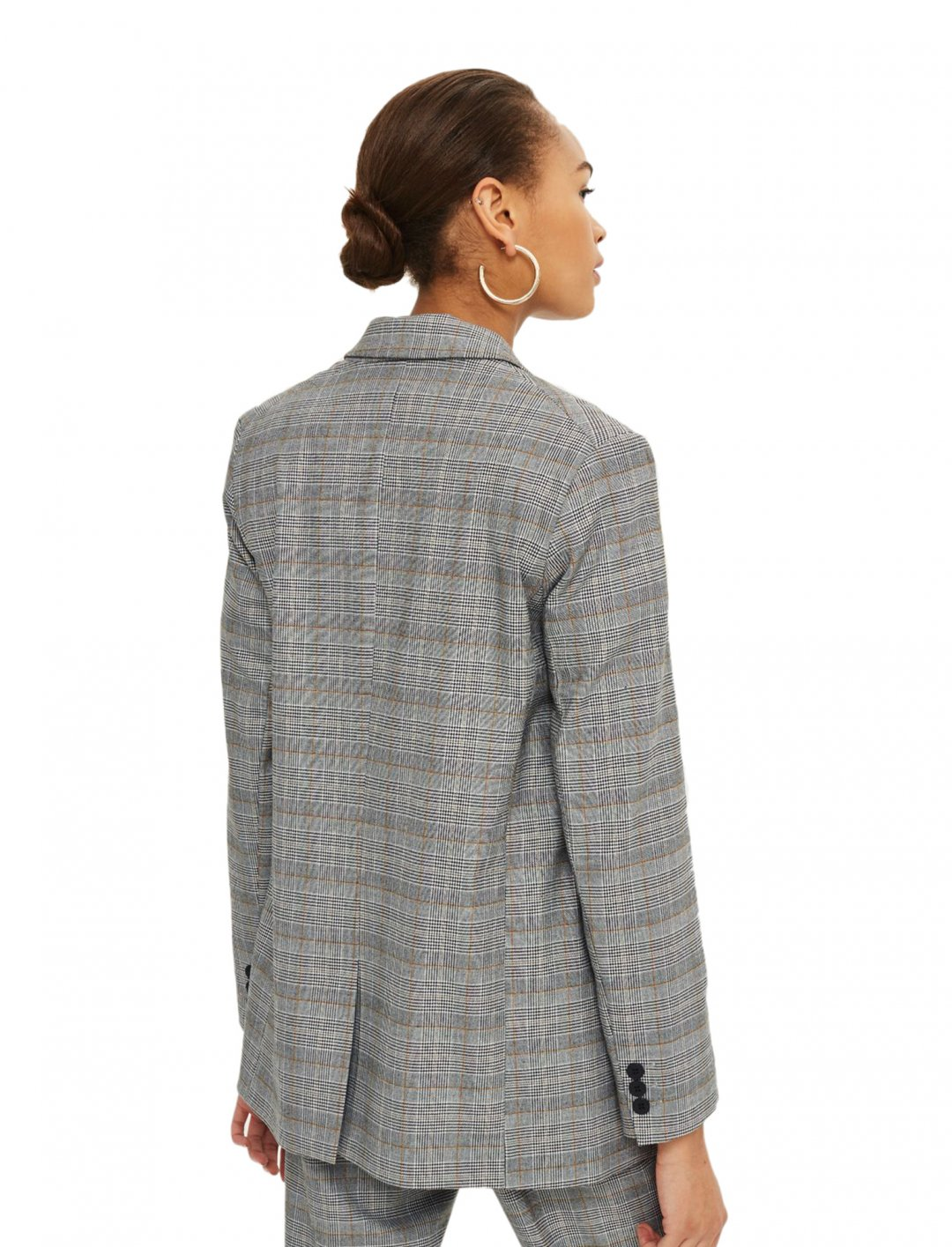 "Topshop Double Breasted Jacket {""id"":5,""product_section_id"":1,""name"":""Clothing"",""order"":5} Topshop"