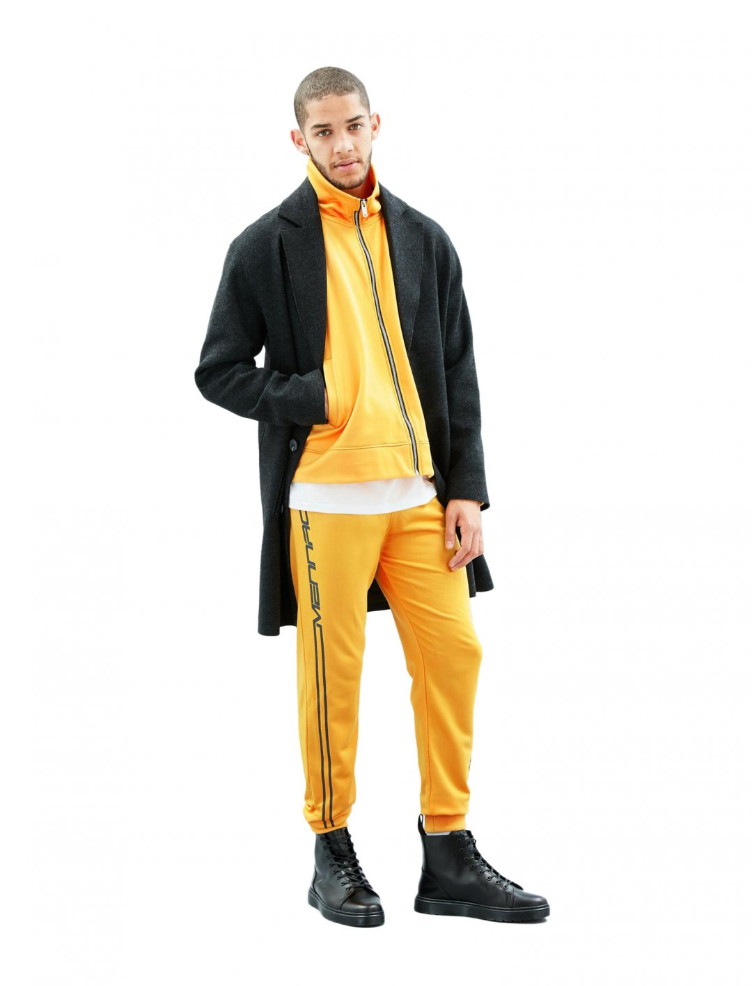 "Race Stripe Tracksuit Bottoms {""id"":5,""product_section_id"":1,""name"":""Clothing"",""order"":5} Mennace"