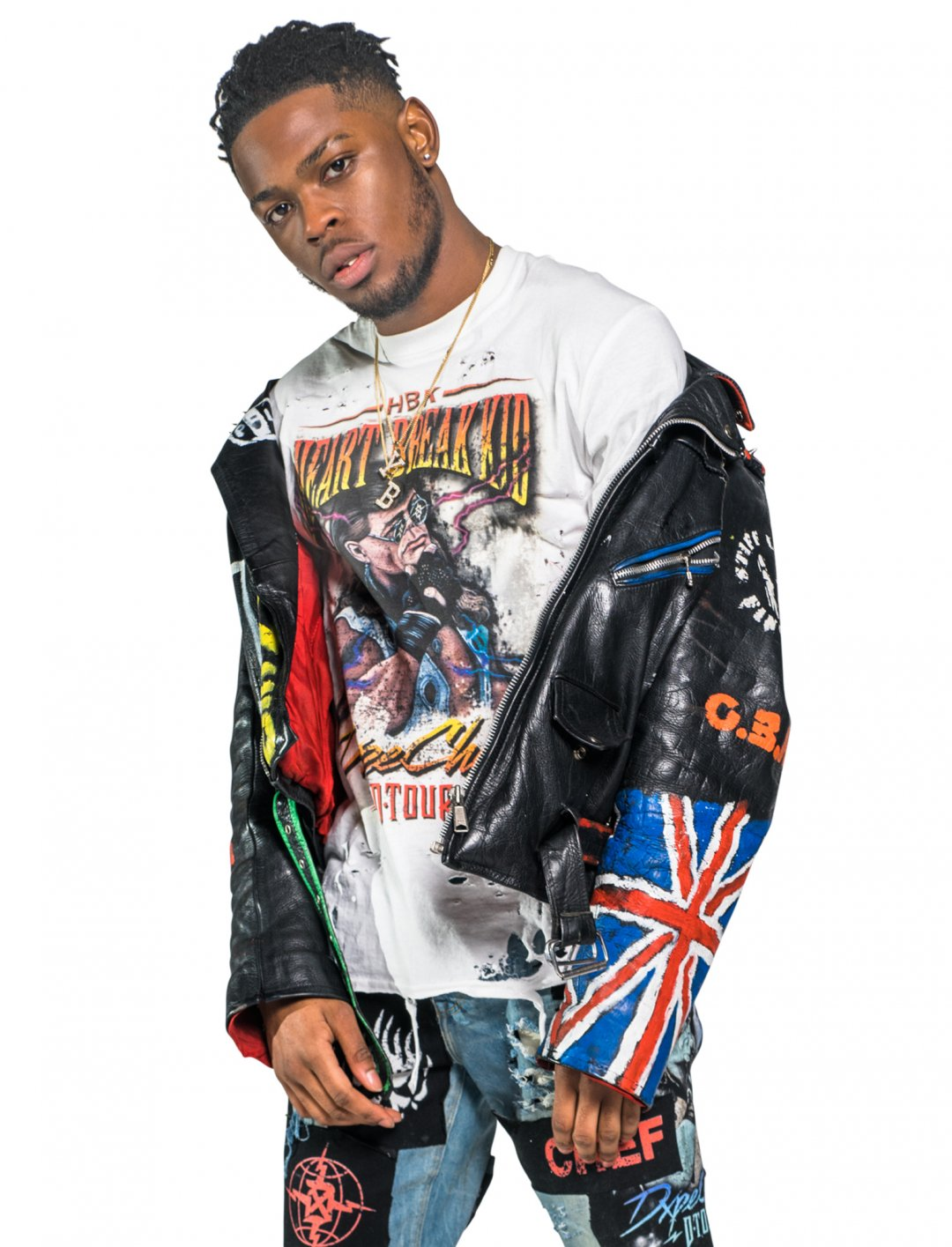 "Yxng Bane's White T-Shirt {""id"":5,""product_section_id"":1,""name"":""Clothing"",""order"":5} Dxpe Chef"