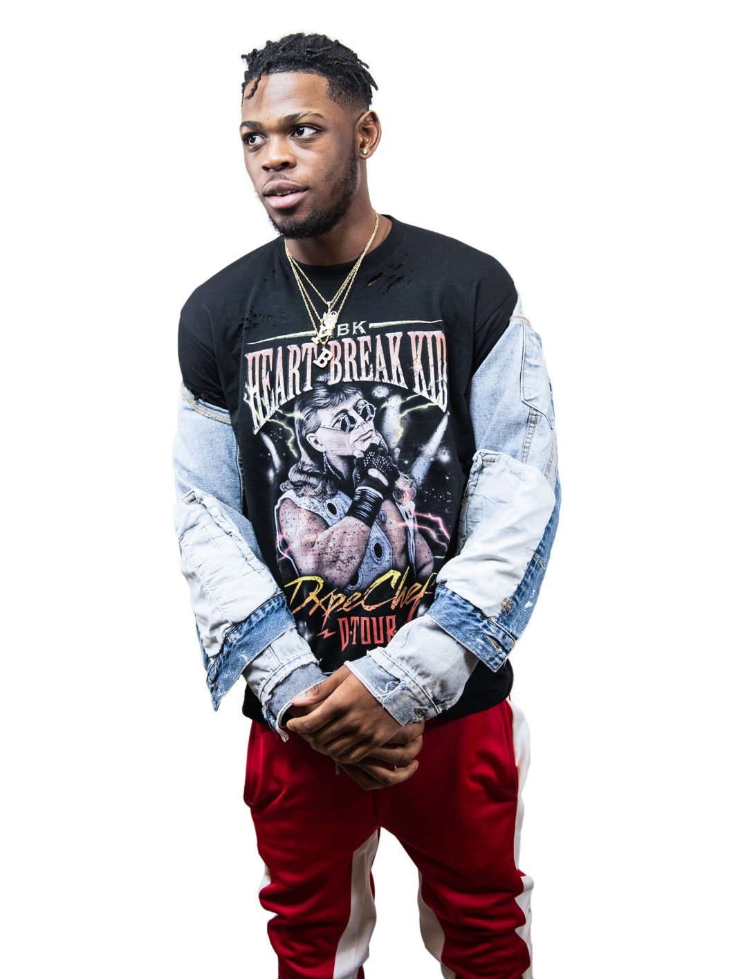 "Yxng Bane's T-Shirt {""id"":5,""product_section_id"":1,""name"":""Clothing"",""order"":5} Dxpe Chef"