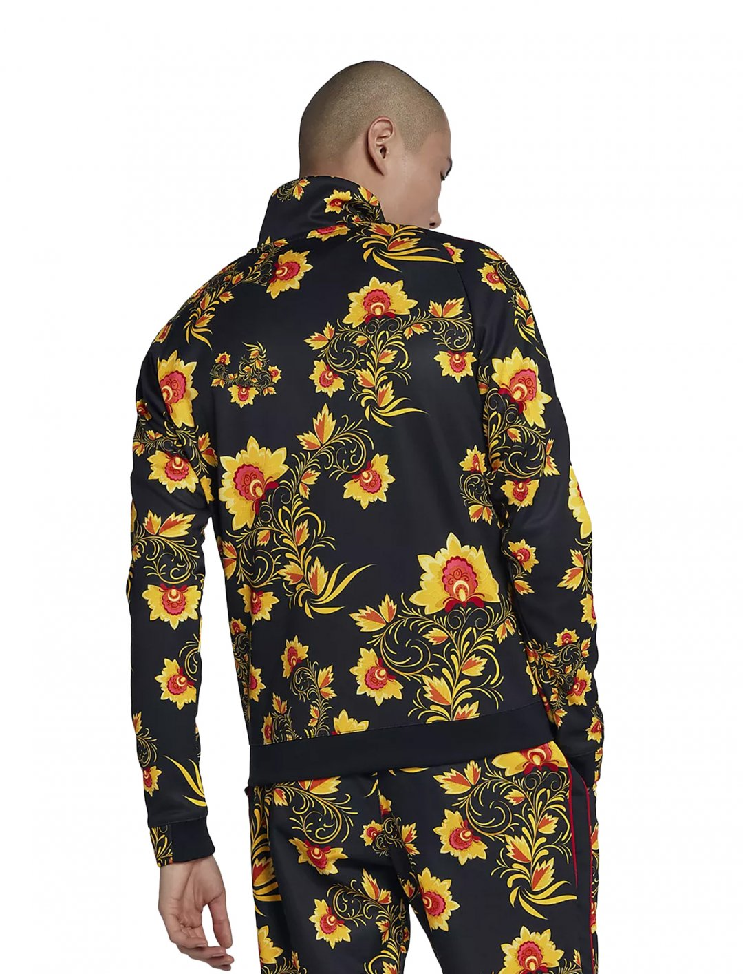 "Not3s' Floral Jacket {""id"":5,""product_section_id"":1,""name"":""Clothing"",""order"":5} Nike"