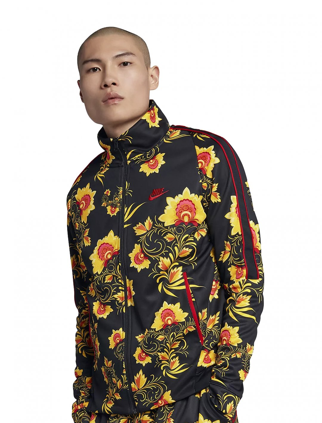 """Not3s' Floral Jacket {""""id"""":5,""""product_section_id"""":1,""""name"""":""""Clothing"""",""""order"""":5} Nike"""