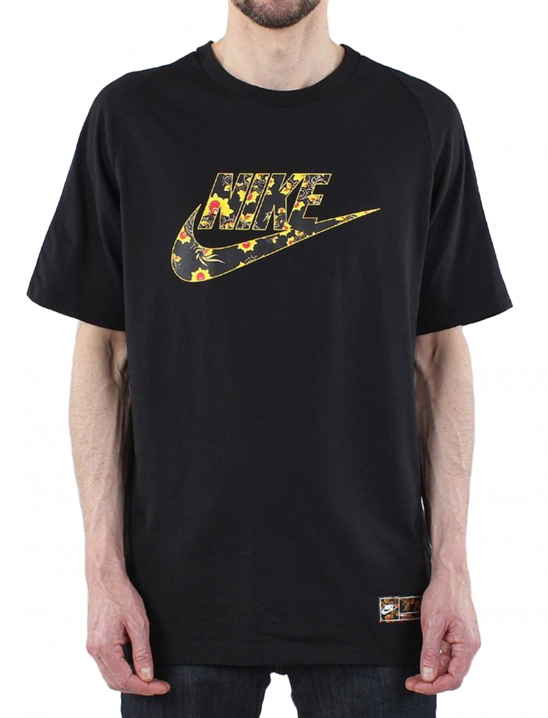 "Not3s' Floral T-shirt {""id"":5,""product_section_id"":1,""name"":""Clothing"",""order"":5} Nike"