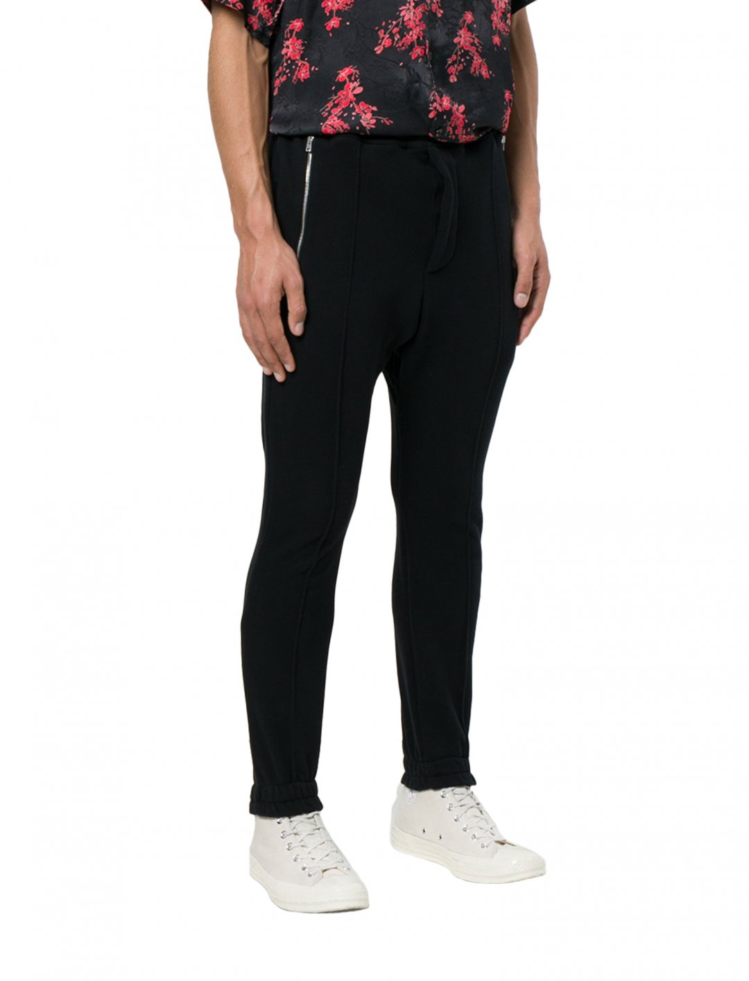 """Not3s' Black Track Pants {""""id"""":5,""""product_section_id"""":1,""""name"""":""""Clothing"""",""""order"""":5} Represent"""
