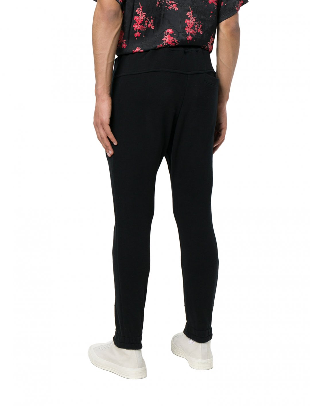 "Not3s' Black Track Pants {""id"":5,""product_section_id"":1,""name"":""Clothing"",""order"":5} Represent"
