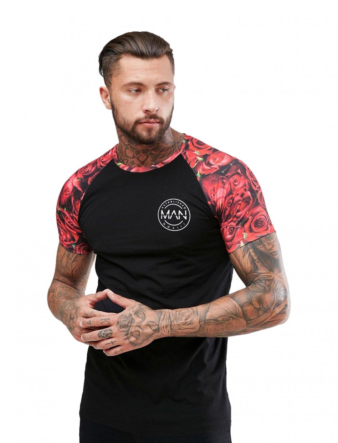 "Boohoo Man T-Shirt {""id"":5,""product_section_id"":1,""name"":""Clothing"",""order"":5} BoohooMan"