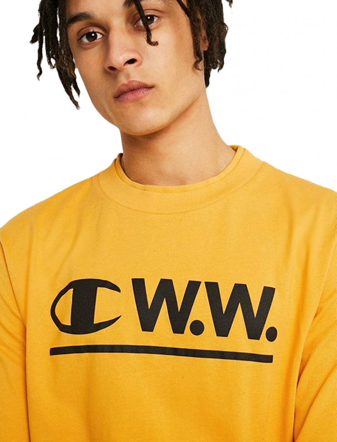 "Champion X Wood Wood T-Shirt {""id"":5,""product_section_id"":1,""name"":""Clothing"",""order"":5} Champion X Wood Wood"