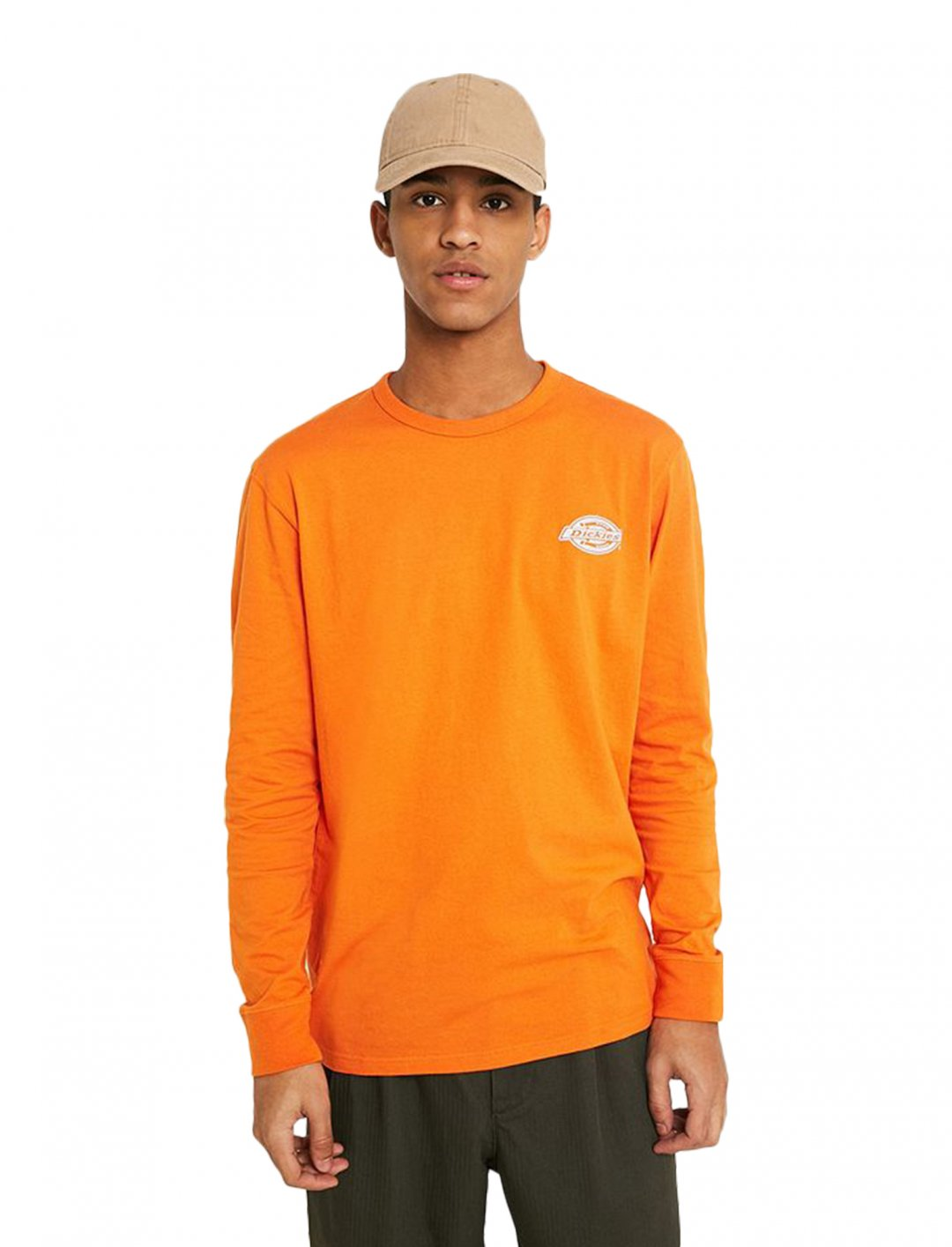 "Dickies Long-Sleeve T-Shirt {""id"":5,""product_section_id"":1,""name"":""Clothing"",""order"":5} Dickies"