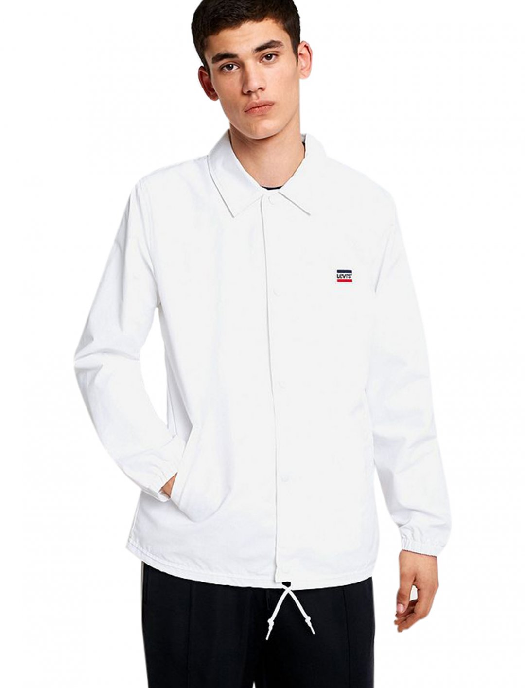 "Levi's Coach Jacket {""id"":5,""product_section_id"":1,""name"":""Clothing"",""order"":5} Levi's"