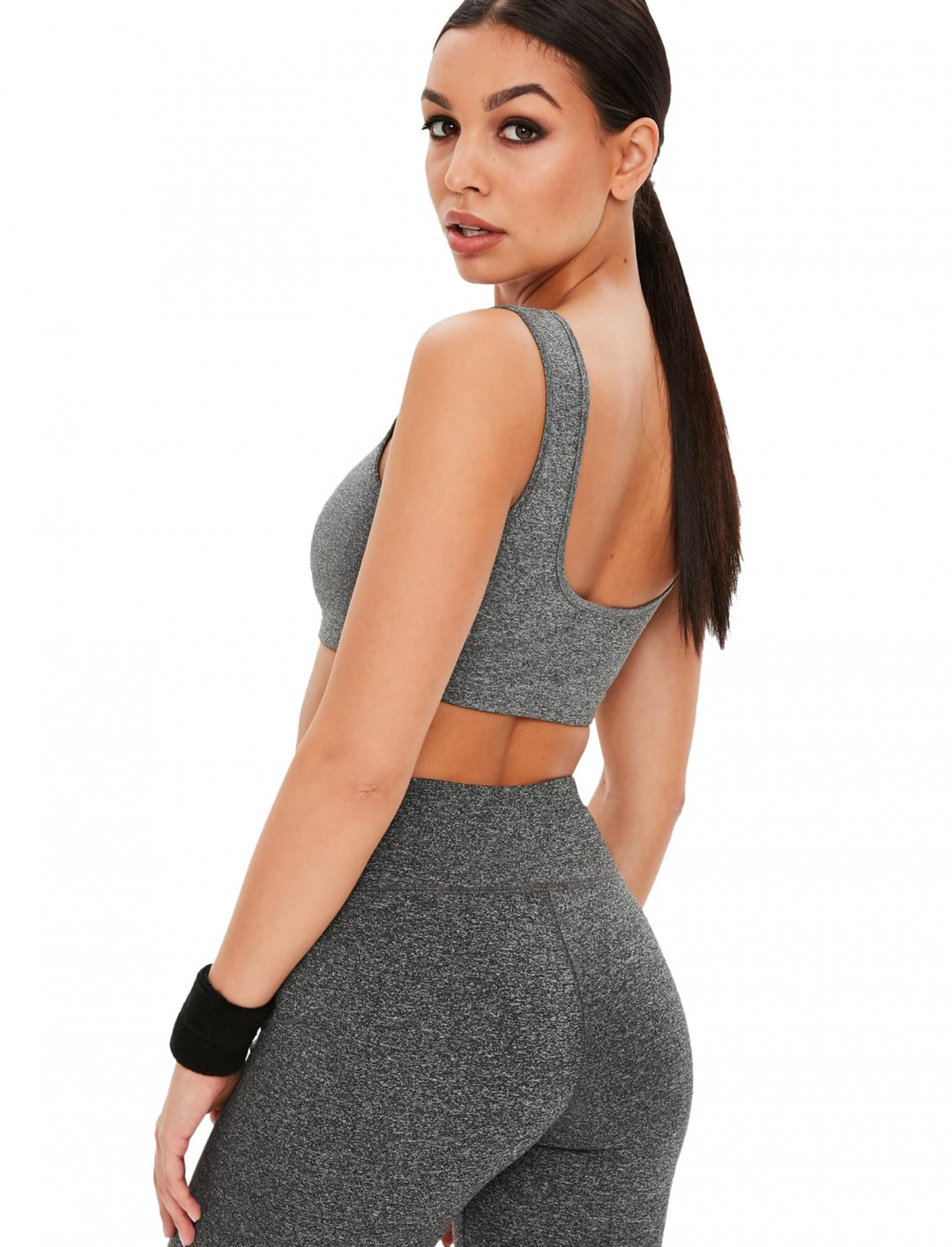 "Missguided Grey Sports Bra {""id"":5,""product_section_id"":1,""name"":""Clothing"",""order"":5} Missguided"