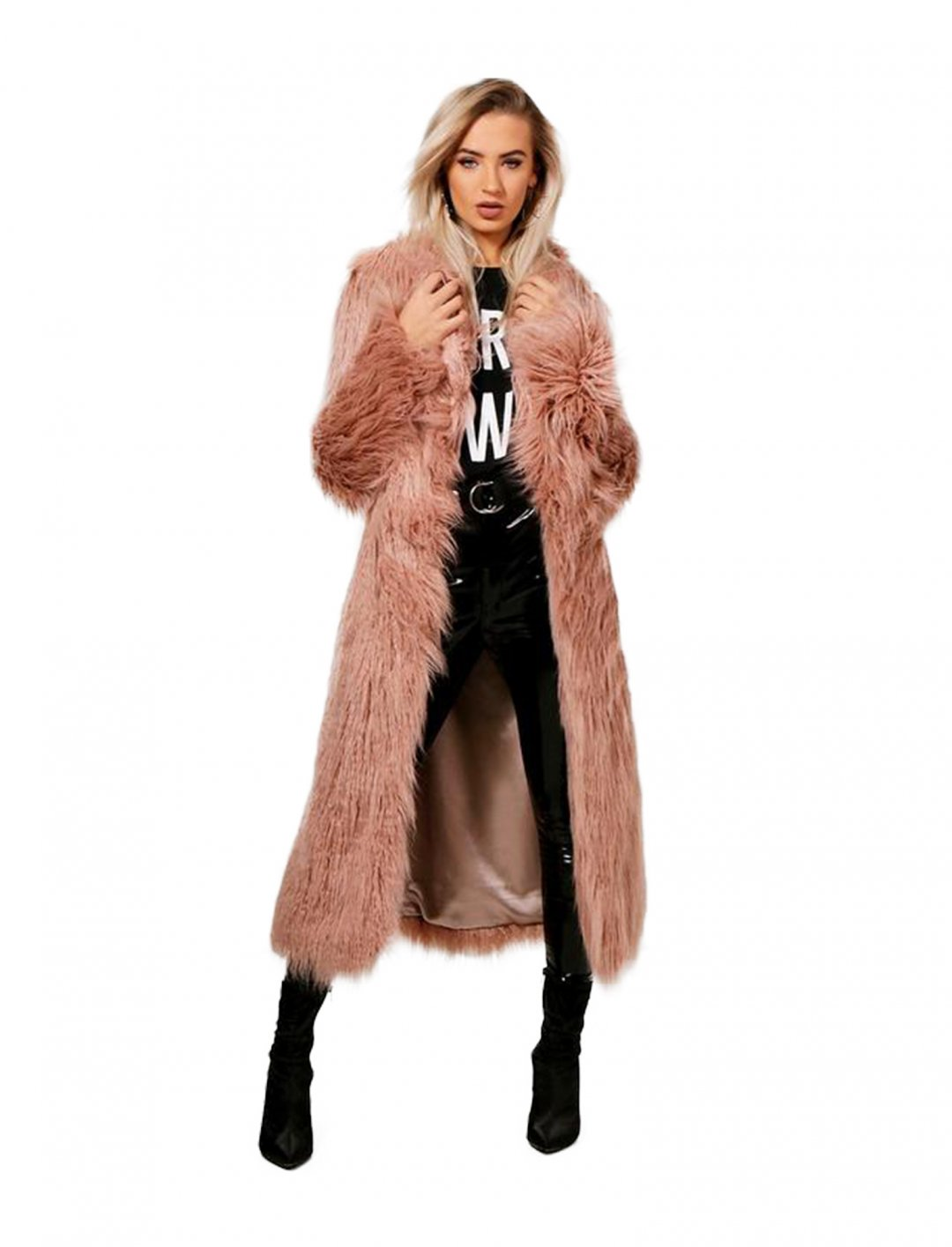 "Boohoo Faux Fur Coat {""id"":5,""product_section_id"":1,""name"":""Clothing"",""order"":5} Boohoo"
