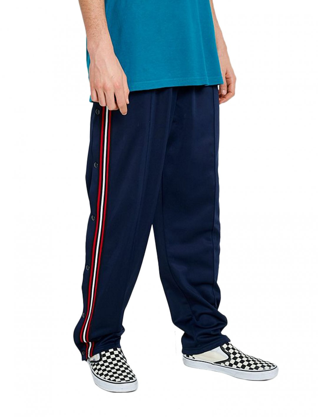 "Loom Popper Track Pants {""id"":5,""product_section_id"":1,""name"":""Clothing"",""order"":5} Loom"