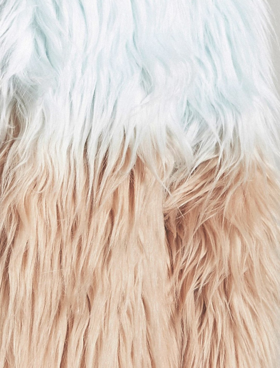Forever21 Ombre Faux Fur Coat Clothing Forever21