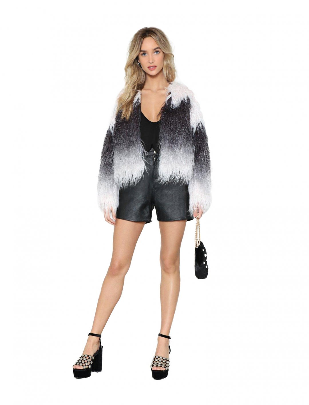 Nasty Gal Faux Fur Coat Clothing Nasty Gal