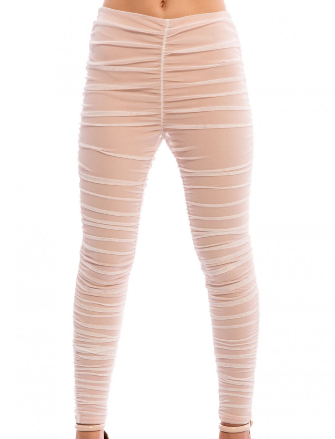"""Tinashe's Mesh Ruched Leggings {""""id"""":5,""""product_section_id"""":1,""""name"""":""""Clothing"""",""""order"""":5} Silkfred"""