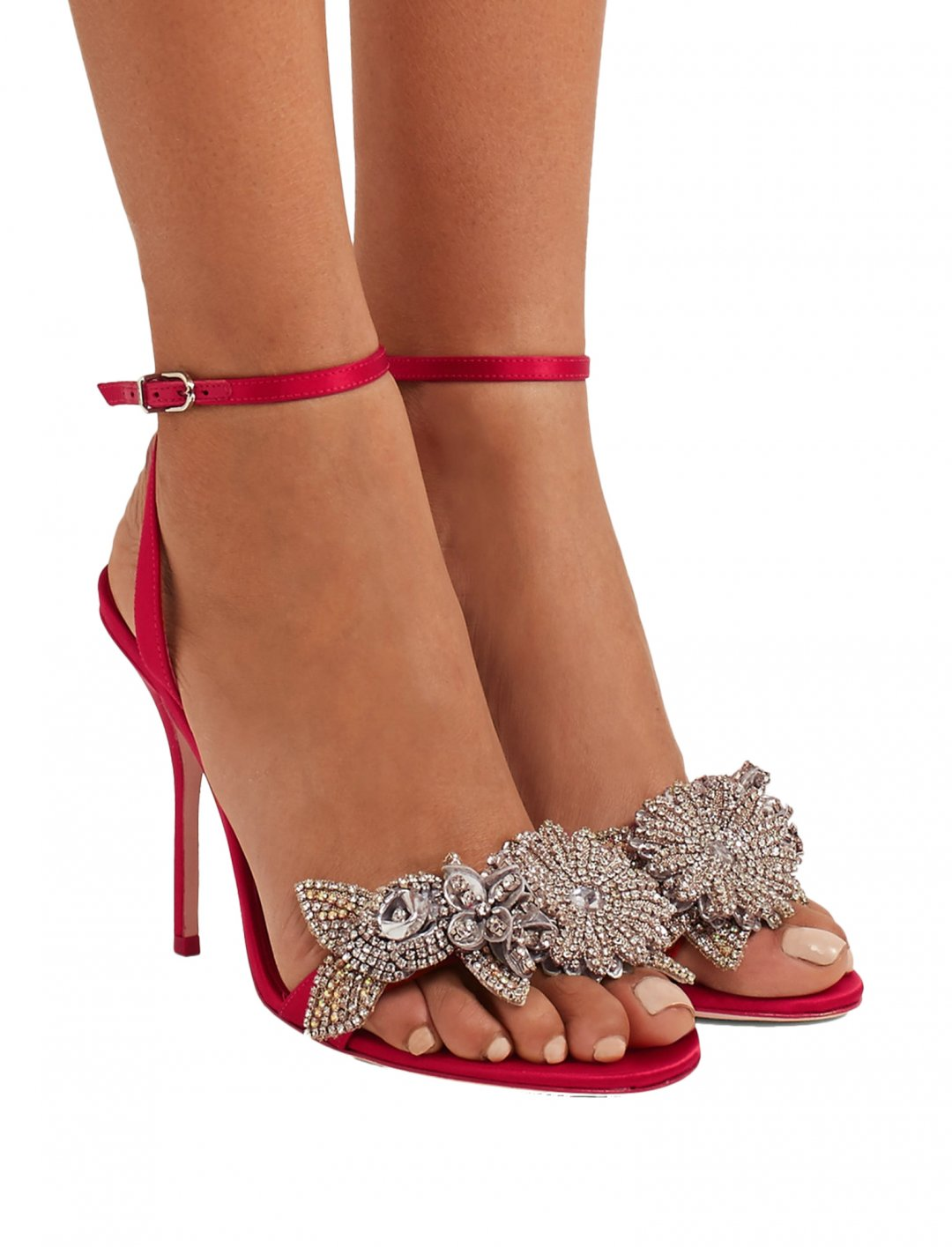 """Tinashe's Satin Sandals {""""id"""":12,""""product_section_id"""":1,""""name"""":""""Shoes"""",""""order"""":12} Sophie Webster"""