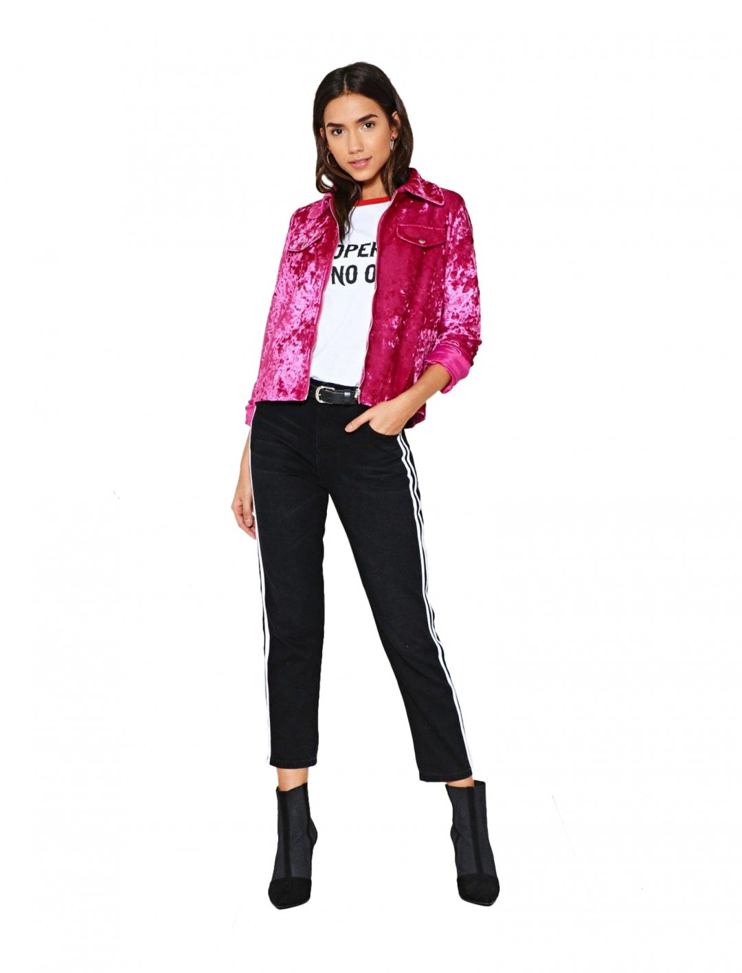"""Nasty Gal Pink Jacket {""""id"""":5,""""product_section_id"""":1,""""name"""":""""Clothing"""",""""order"""":5} Nasty Gal"""