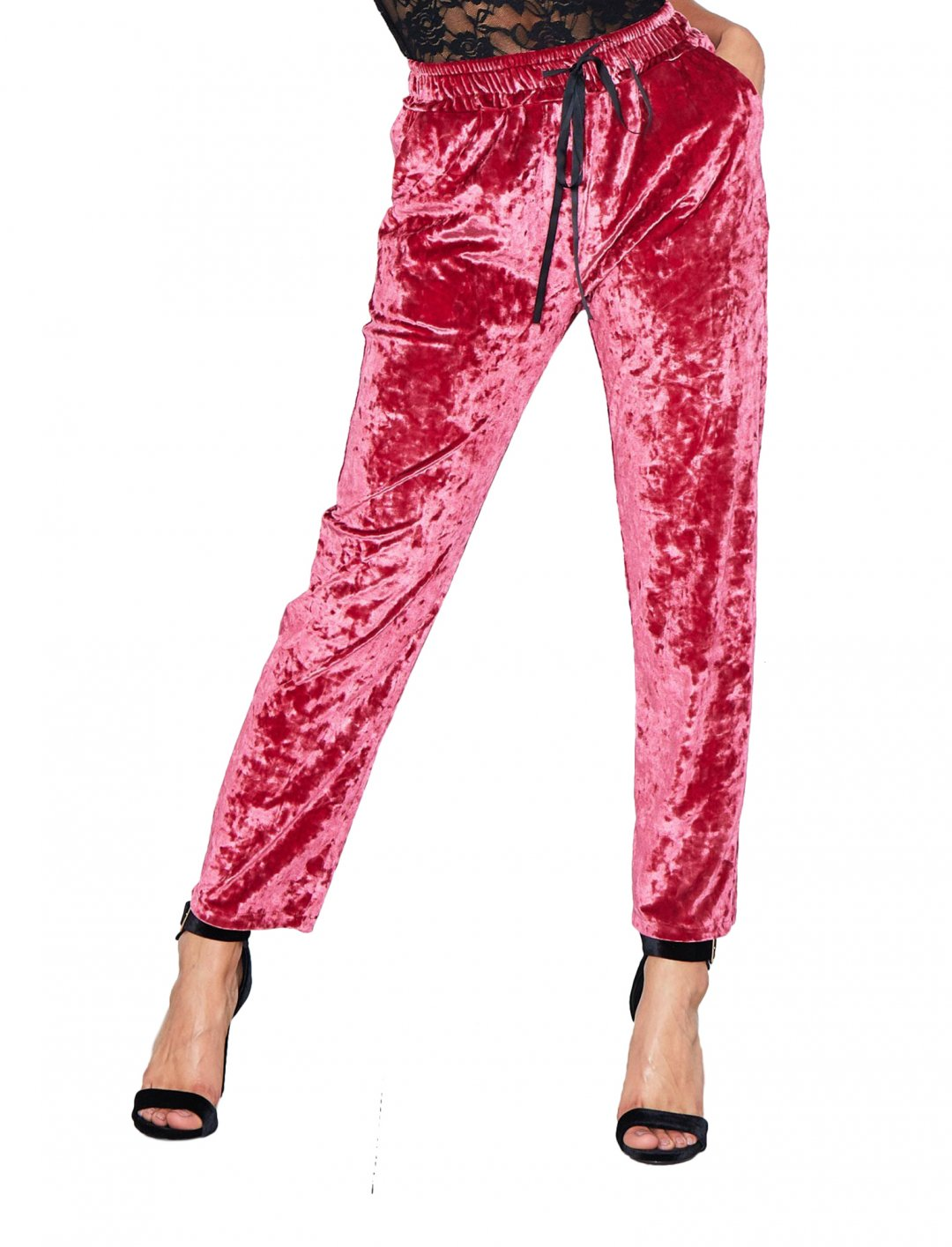 """Missy Empire Velvet Trousers {""""id"""":5,""""product_section_id"""":1,""""name"""":""""Clothing"""",""""order"""":5} Missy Empire"""
