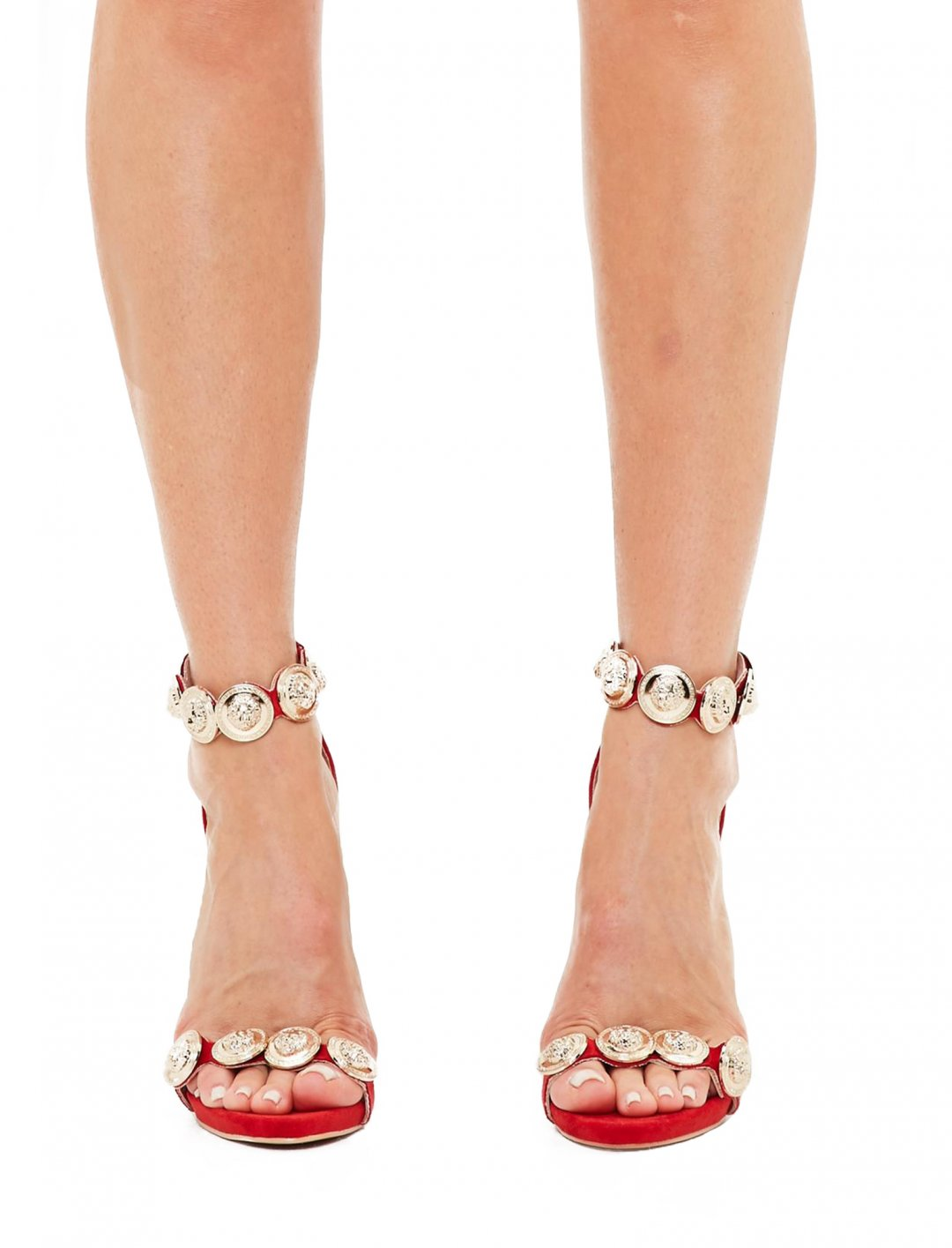 """Missguided Red Sandals {""""id"""":12,""""product_section_id"""":1,""""name"""":""""Shoes"""",""""order"""":12} Missguided"""