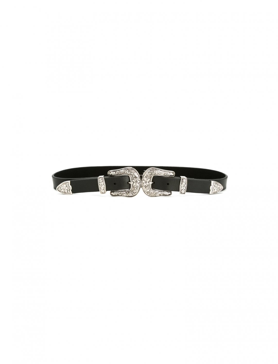 """Sofia's Double Buckle Belt {""""id"""":16,""""product_section_id"""":1,""""name"""":""""Accessories"""",""""order"""":15} B-Low The Belt."""