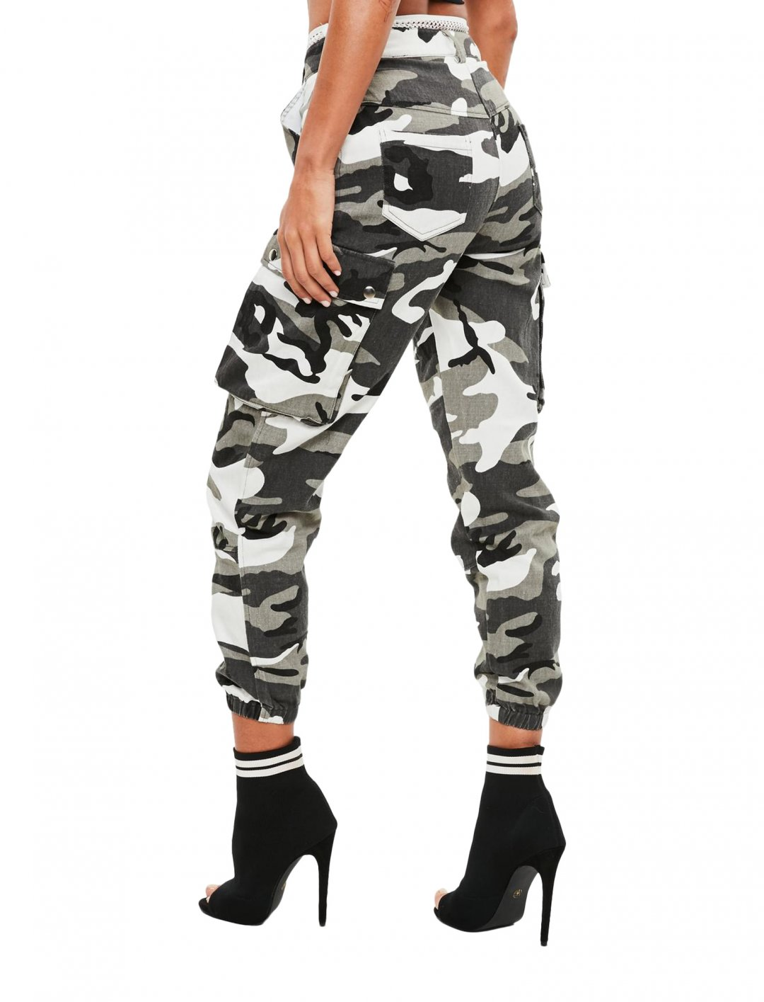 """Missguided Camo Cargo Pants {""""id"""":5,""""product_section_id"""":1,""""name"""":""""Clothing"""",""""order"""":5} Missguided"""