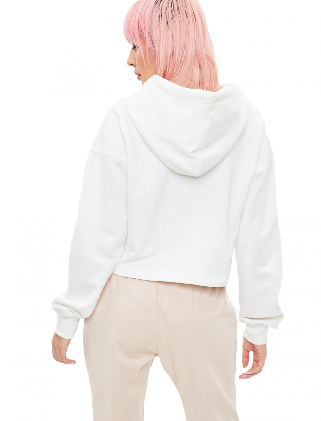 """Missguided Cropped Hoodie {""""id"""":5,""""product_section_id"""":1,""""name"""":""""Clothing"""",""""order"""":5} Missguided"""