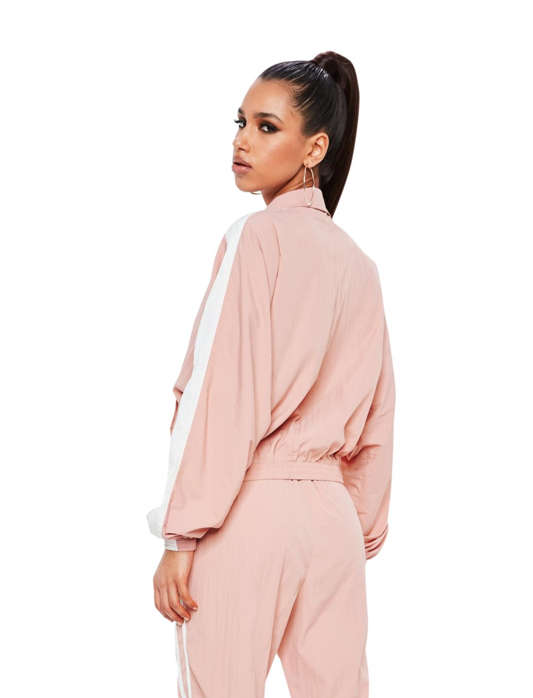 """Missguided Track Top Jacket {""""id"""":5,""""product_section_id"""":1,""""name"""":""""Clothing"""",""""order"""":5} Missguided"""