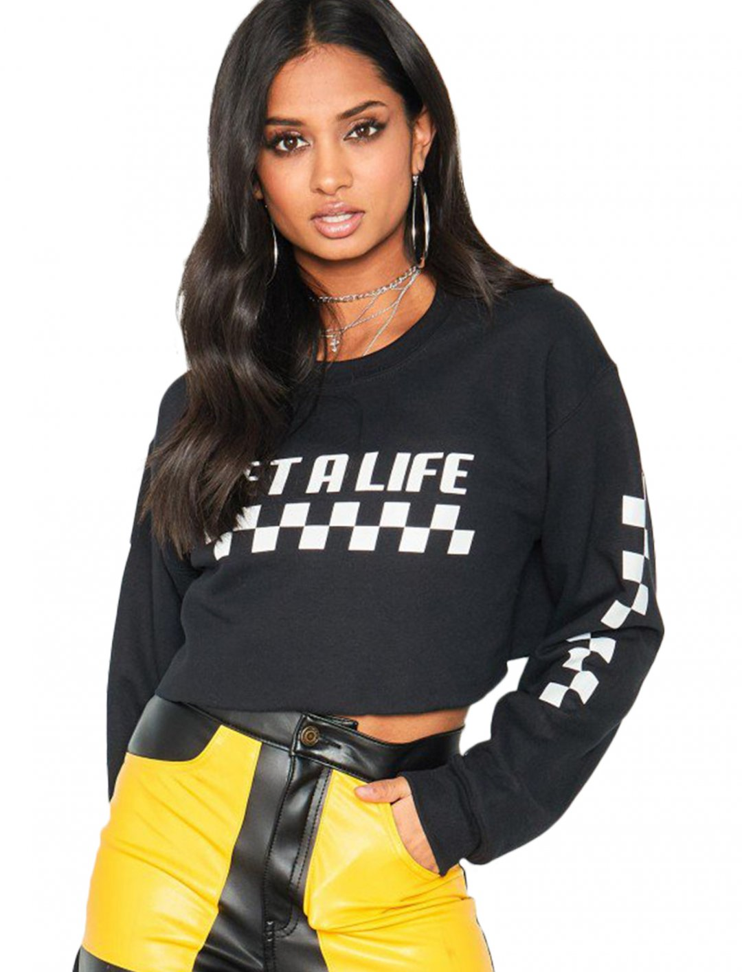 """Missy Empire Crop Jumper {""""id"""":5,""""product_section_id"""":1,""""name"""":""""Clothing"""",""""order"""":5} Missy Empire"""