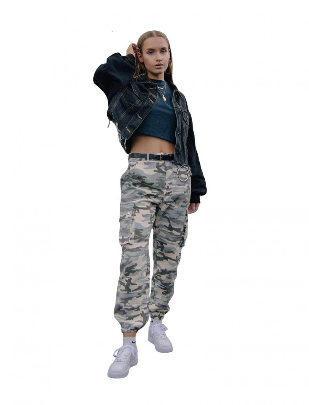 """Missguided Printed Cargo Trousers {""""id"""":15,""""product_section_id"""":1,""""name"""":""""Other"""",""""order"""":0} Missguided"""